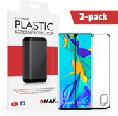 2-pack BMAX OnePlus 7 Pro Screenprotector / Full Cover Beschermfolie / Ultra Clear PET / Onzichtbaar Display Folie