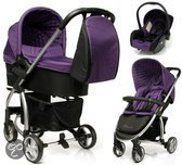4Baby Atomic Kinderwagen - incl. Autostoel - Purple