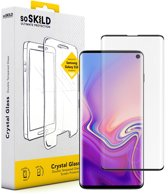 SoSkild Samsung Galaxy S10 Crystal Double Tempered Glass Screen Protector Black