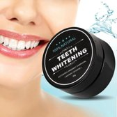 Teeth whitening Activated Organic Charcoal - Tandenblekende poeder met GRATIS bamboo tandenborstel