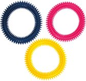 Flamingo Ring - Hondenspeelgoed - 3 cm - Blauw