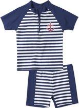 Playshoes UV zwemsetje Kinderen Maritime - Blauw - Maat 122/128