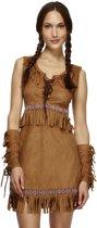 Pocahontas Indianen kostuum | Sexy verkleedkleding dames maat M (40-42)