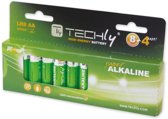 Techly LR06 AA 1.5V Single-use battery Alkaline 1,5 V