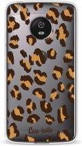 Casetastic Softcover Motorola Moto G5 - Leopard Print