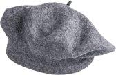 Baret 28 cm Grijs | JZBE0005G | Clayre & Eef