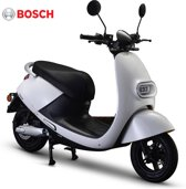 IVA E-GO S3 Elektrische Scooter Wit 45 km/h