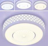 36W moderne minimalistische ronde woonkamer Lamp eetkamer slaapkamer hoogtepunt Chip LED plafond licht 30cm traploos dimmen afstandsbediening
