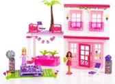 Mega Bloks Barbie Strand Huis - Constructiespeelgoed