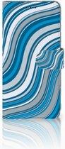Huawei Mate 20 Lite Boekhoesje Design Waves Blue