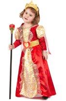 Koningin pak voor meisjes - Verkleedkleding - 110/116