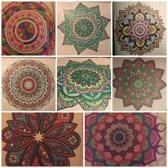 Mandala kleuren voor volwassenen met 30 gelpennen