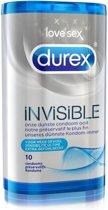 Durex Invisible Extra Dun - Condooms - 2 x 10 stuks