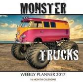 Monster Trucks Weekly Planner 2017