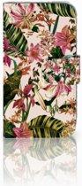 Samsung Galaxy Core Prime Uniek Boekhoesje Flowers