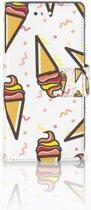 Huawei P10 Boekhoesje Design Icecream