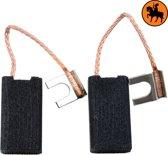 Koolborstelset voor Black & Decker frees/zaag PAG618 - 6,35x12x22mm