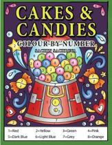 Cakes & Candies Colour by Number