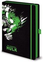 Marvel Retro Hulk Mono A5 Premium Notitieboek