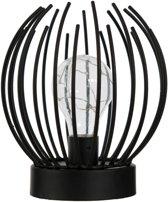Metalen lamp zwart