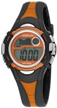 Nowley 8-6145-0-3 digitaal horloge 36 mm 100 meter zwart/ oranje
