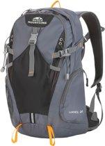 Dutch Mountains Backpack IJssel - Rugzak 20 Ltr - Rugventilatie + Regenhoes - Zwart