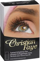 Christian Faye Wimper en Wenkbrauwverfkit - Black