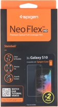 Spigen Neo Flex Screenprotector Duo Pack voor de Samsung Galaxy S10