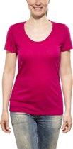 Icebreaker Tech Lite SS Scoop - dames - T-shirt - maat XL - rood