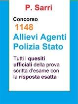 Quesiti ufficiali Concorso 1148 agenti Polizia