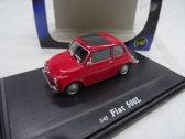 Fiat 500L Rood 1:43 Cararama
