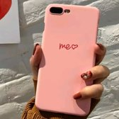 Apple iPhone 7/8 – Hard Cover roze – Me