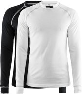 Craft Active 2-Pack Tops Thermoshirt Heren - Black/White