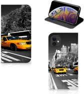 Apple iPhone 11 Book Cover New York Taxi