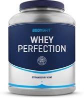Body & Fit Whey Perfection - Eiwitpoeder / Eiwitshake - 2270 gram - Strawberry Kiwi milkshake