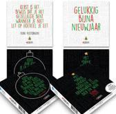 Set van 20 luxe Darum-kerstkaarten (set 1)