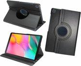 Pearlycase Hoesje 360° Draaibare Case Beschermhoes Zwart voor Samsung Galaxy Tab A 10.1 2019 (T515)