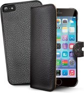 Celly - Celly Ambo 2-in-1 Wallet Case - iPhone 6 / 6S - zwart