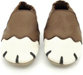 Babyschoentje - Boumy - Paws Brown   Large (maat: 22/23)