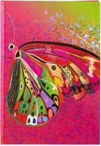 GOLDBUCH GOL-64276 TURNOWSKY A5 gastenboek FLOWER BUTTERFLY PINK als receptieboekje