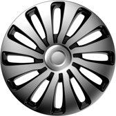 J-Tec Wieldoppen 14 inch Sepang zilver/zwart