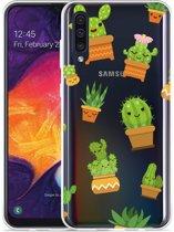 Galaxy A30s Hoesje Happy Cactus