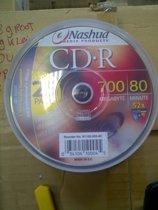 Nashua 25-pack CD-R, cakebox 80min./700MB, 52x