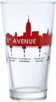 Durobor 5TH Avenue Longdrinkglas - 0.31 l - 6 stuks