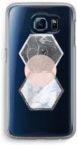Samsung Galaxy S6 Transparant Hoesje (Soft) - Creatieve toets