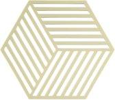 Zone Denmark Hexagon Silicone onderzetter limoengroen