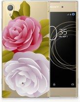 Sony Xperia XA1 Plus Uniek TPU Hoesje Roses