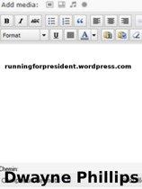 RunningForPresident.Wordpress.com