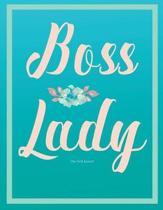 Boss Lady Journal (Diary, Notebook). Dot Grid