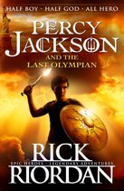Omslag van 'Percy Jackson and the Last Olympian'